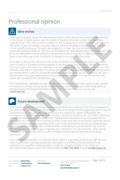CON29M Coal Authority Report thumbnail