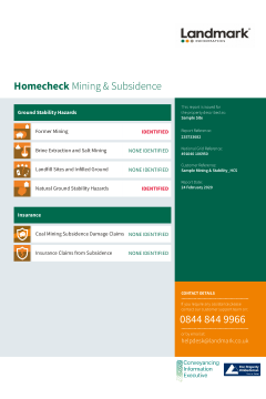 Landmark Homecheck Mining and Subsidence thumbnail