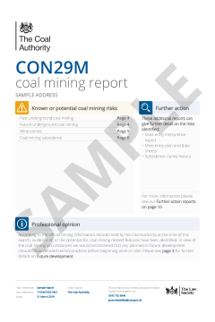 CON29M Non-Residential Coal Authority Report thumbnail