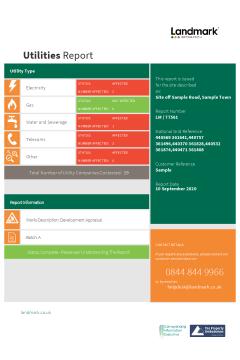 Landmark Utilities Report Standard (with Overview Plan) thumbnail