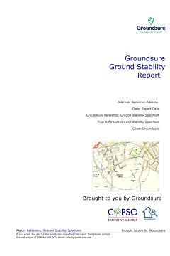 Groundsure Ground Stability thumbnail