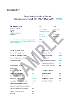 SmartSearch AML thumbnail