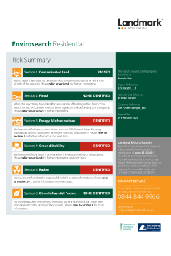 Landmark Envirosearch Residential thumbnail